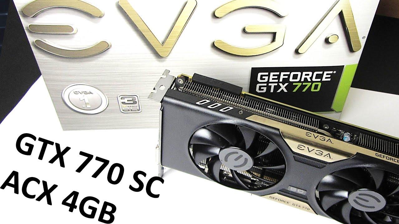 EVGA GeForce GTX 770 SC Video Drivers Download
