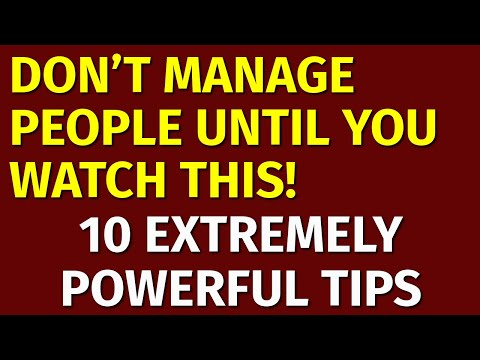 Staff Management: How to Manage People at Work (Top 10 Tips)
