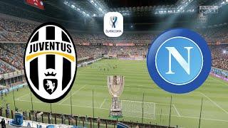 Supercoppa italiana 2021 final - juventus vs napoli 20th january fifa 21