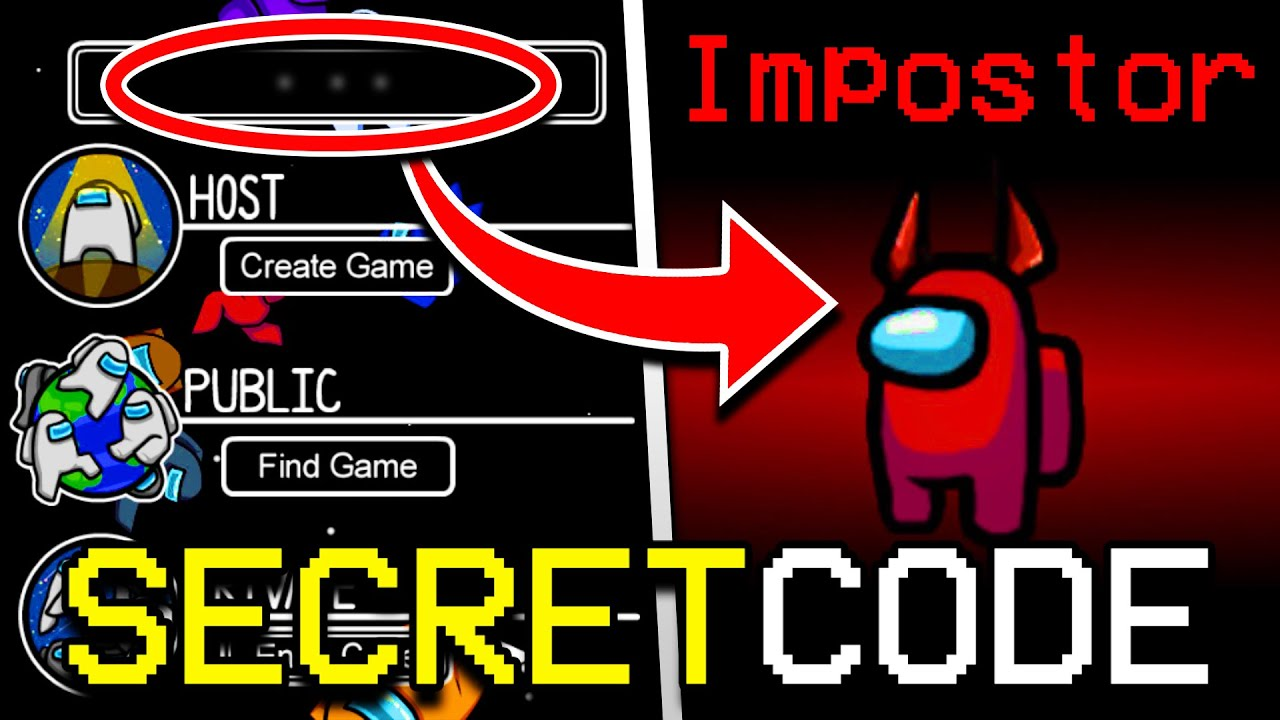 Download SECRET GLITCH CODE TO GET IMPOSTER EVERY TIME IN AMONG US! HOW TO ALWAYS BECOME IMPOSTER IN AMONG US