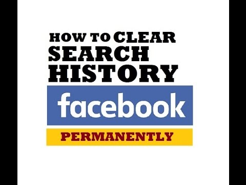 How to delete your facebook search history permanently clear all how to delete your facebook search history permanently clear all activity log ccuart Choice Image