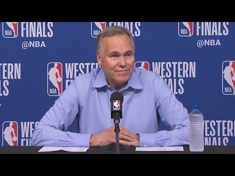 Mike D'Antoni Postgame Interview - Game 5 | Warriors vs Rockets | 2018 NBA West Finals