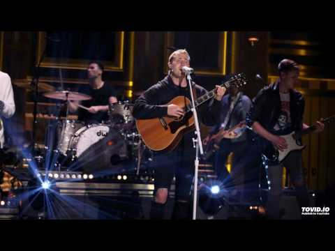 Mike Posner - Be As You Are (Live on The Tonight Show)