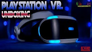 Sony Playstation VR Headset Core System | UNBOXING | My Video Games World