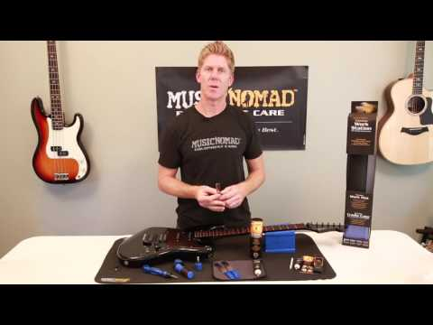 Top Innovative & High Quality Guitar Care Products introduced for 2017 from Music Nomad