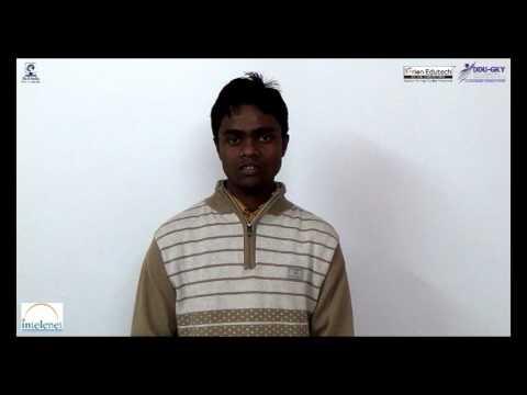 DDU-GKY student testimonial from Orion Edutech, Utpol Panika, Assam