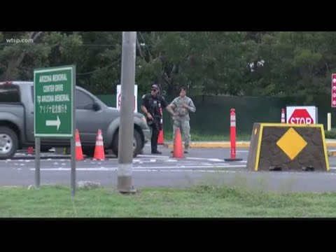 Suspect identified in shooting at Pearl Harbor Naval Shipyard