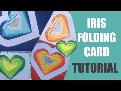 Iris Folding Card Tutorial