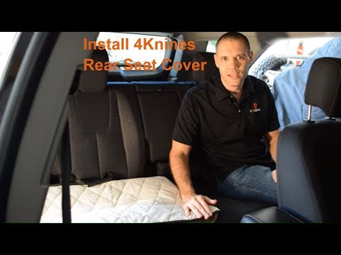 4Knines Dog Seat Cover Installation Video