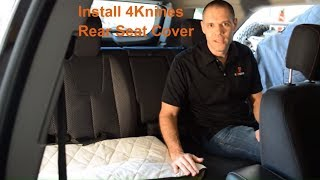 4Knines Dog Rear Seat Cover Installation Video