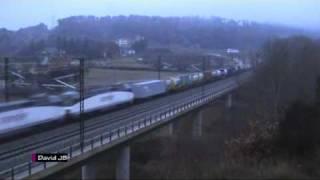 Primer tren de mercancías en ancho internacional thumbnail