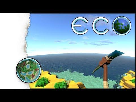 ECO Survival | Ein Meteor rast auf uns zu! | 001  (Open World, Crafting, Building Gameplay!)