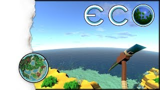 ECO Survival | Ein Meteor rast auf uns zu! | 001  (Open World, Crafting, Building Gameplay!)