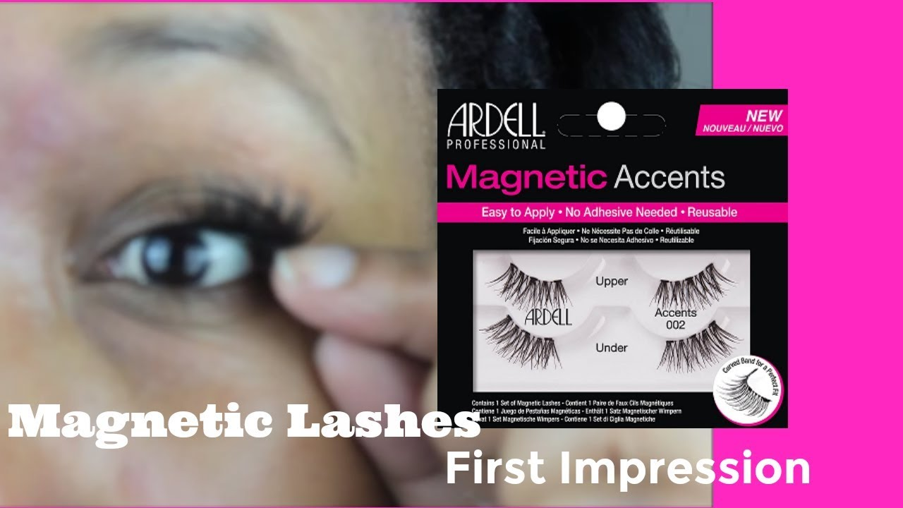 c367452948d Ardell Magnetic Lashes Review - YouTube