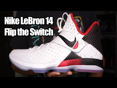 Nike LeBron 14 'Flip the Switch' W/ On Foot