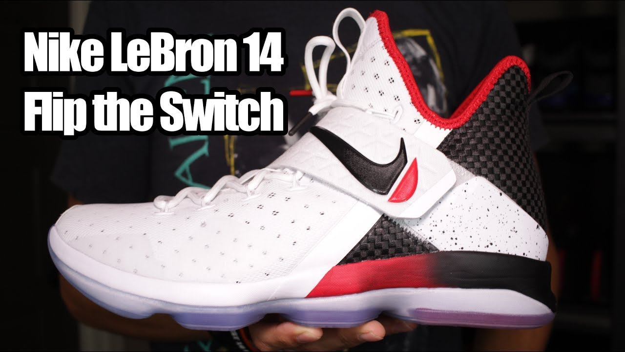 cheap for discount 22a45 abb88 Nike LeBron 14  Flip the Switch  W  On Foot