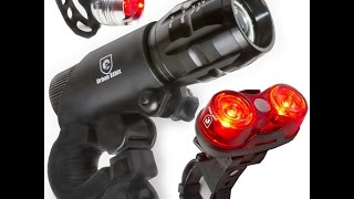 LED Lights For Bikes *Free* Helmet Light For Kids and Adults