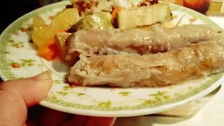 Сочные и очень вкусные колбаски с овощами