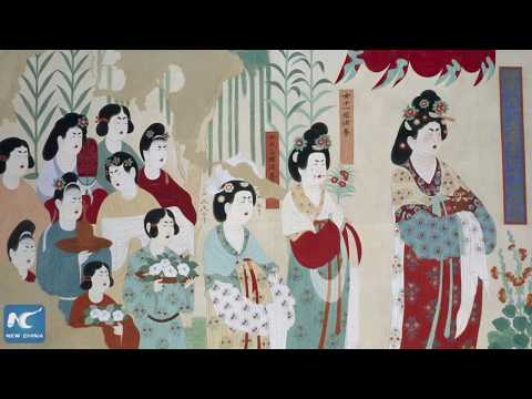 The ancient Mogao Caves