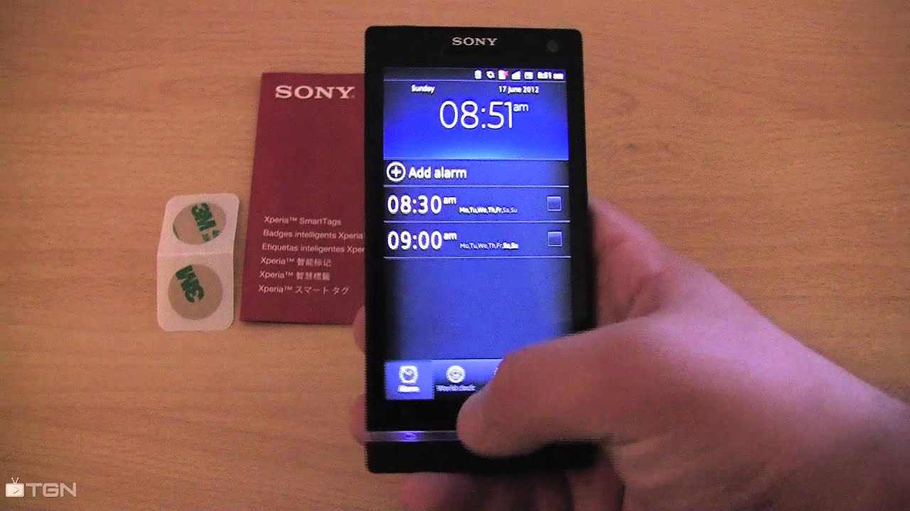 how to use nfc on sony xperia s