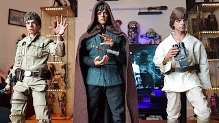 REVIEW. STAR WARS LUKE SKYWALKER COLLECTION HOT TOYS 1/6 SCALE FIGURES.