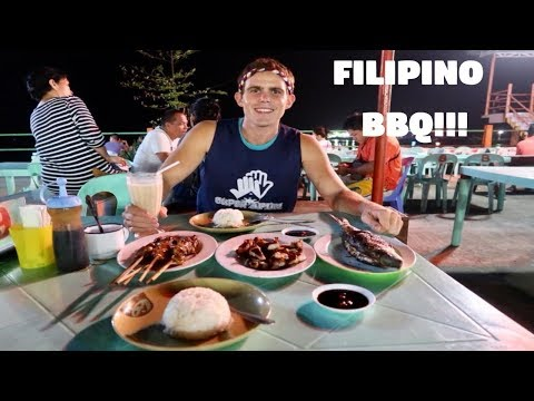 FILIPINO BBQ NIGHTS ARE THE BEST! (Cheap Food in Bato, Leyte, Philippines)