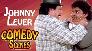 Johnny Lever Comedy Scene - Dulhe Raja Movie- Kadar Khan- Govinda - #IndianComedy