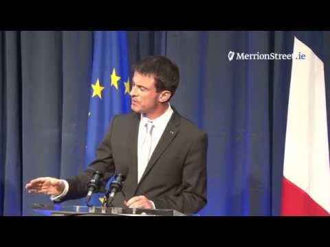Press Conference: Taoiseach Enda Kenny and Prime Minister Manuel Valls