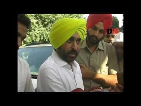 AAP leader Bhagwant Mann attacks Punjab Govt