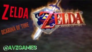 THE LEGEND OF ZELDA OCARINA OF TIME n64 intro