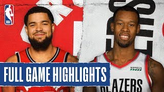 RAPTORS at TRAIL BLAZERS | FULL GAME HIGHLIGHTS | November 13, 2019