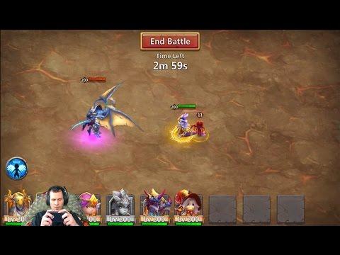 JT's Main ArchdemoN With Demogorgon No Medusa Castle Clash