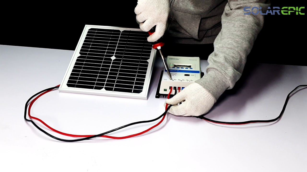 SolarEpic MPPT Solar Charge Controller TRIRON Series Unboxing