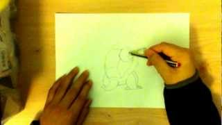 How to draw a Blastoise (by Anas)