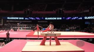 UCHIMURA Kohei (JPN) - 2015 Artistic Worlds - Qualifications Pommel Horse