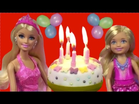 BARBIE'S LIFE IN THE DREAMHOUSE | CHELSEA'S BIRTHDAY PARTY | Toy Play | Princesses In Real Life