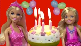 Barbie Life In The Dreamhouse Toys Videos – New 2015 English Episode 2: Chelsea's Birthday Party!