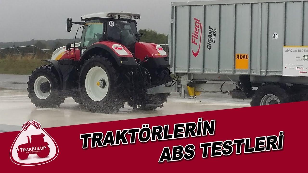 Traktörlerin ABS Testleri | ABS Testing of Tractors