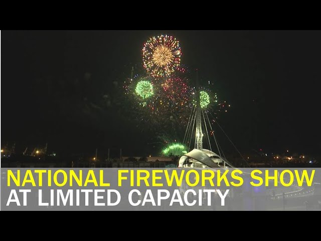 Crowds at national fireworks show capped at 20,000 | Taiwan News | RTI