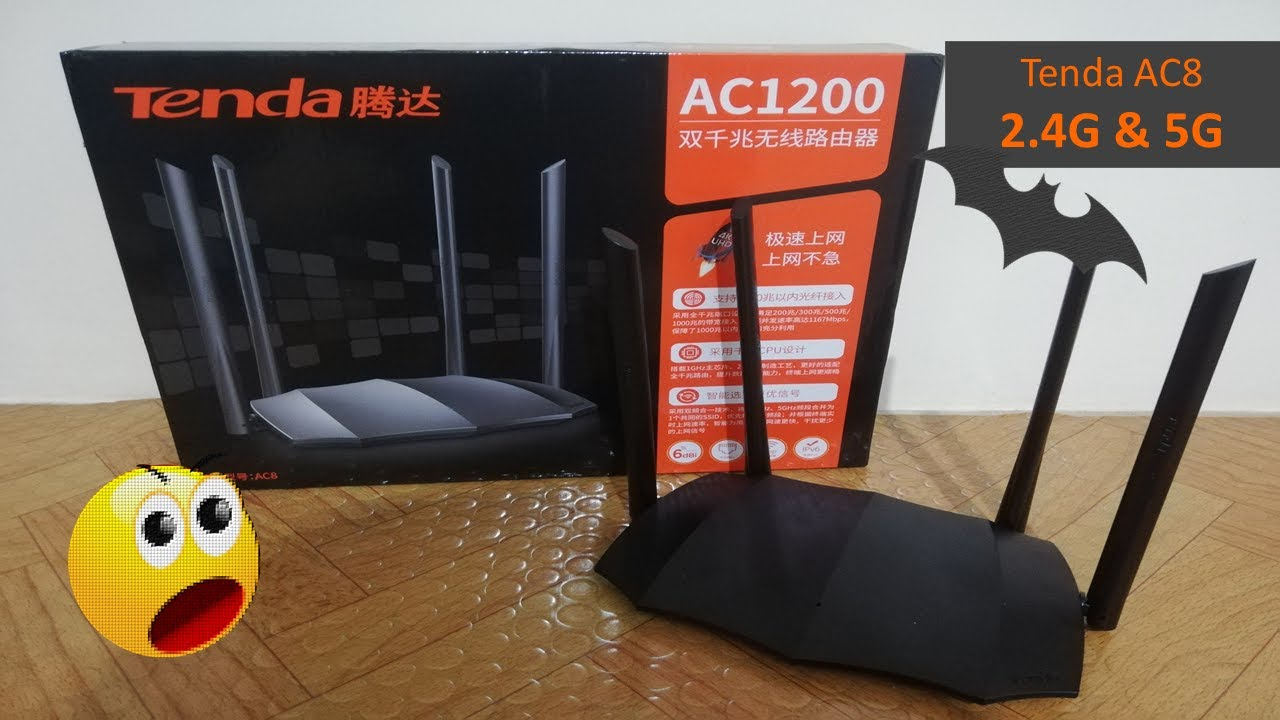 برمجة راوتر Tenda AC1200