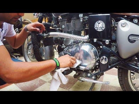 Royal Enfield Engine Buffing & Chrome Polish - Metal Polish - King Indian