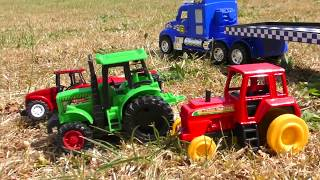 TOY TRUCK TRANSPORT TRACTORS FOR KIDS