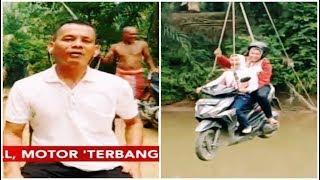 Meski Tak Ada Pengaman, Penggagas Jembatan Katrol Pastikan Tali Kuat - iNews Siang 18/09