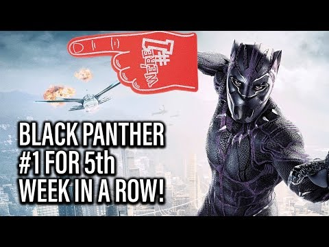 Box Office - Black Panther Takes Top Spot For Fifth Week In A Row