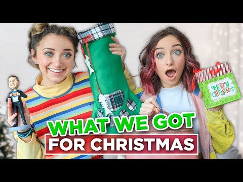 What We Got For CHRiSTMAS 2019   Brooklyn and Bailey