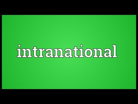 Header of intranational
