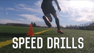 Speed Drills For Footballers/Soccer Players