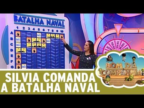 Bom Dia e Cia (09/06/16) - Silvia Abravanel brinca na Batalha Naval