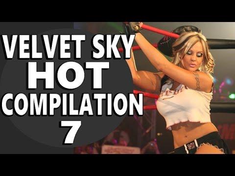 TNA Knockout Velvet Sky HOT Compilation- 7