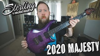 Sterling By Music Man 2020 Majesty!